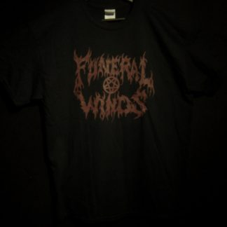 Funeral Winds Black Moon Over Saturn Shirt