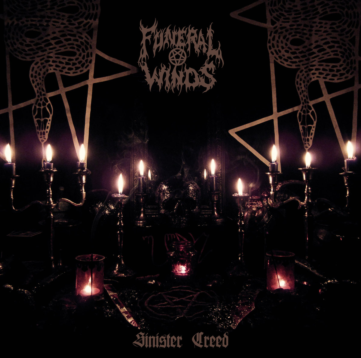 Funeral Winds Sinister Creed CD
