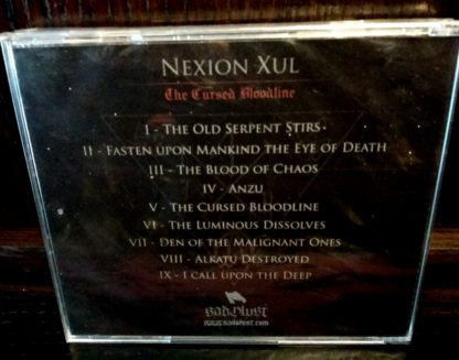 Funeral Winds Nexion Xul Back CD