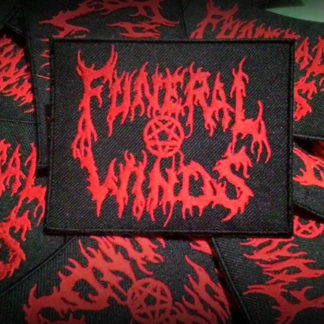 Funeral Winds Logo patch red