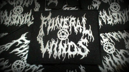 Funeral Winds Logo Patch White