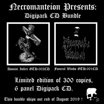 Digipack bundle Necromanteion