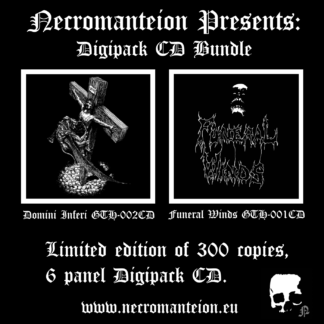 Digipack bundle Funeral Winds Domini Inferi