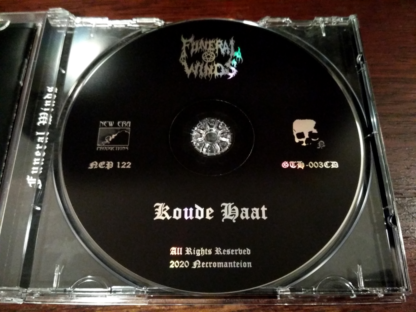 Funeral Winds Koude Haat CD Reissue Tray