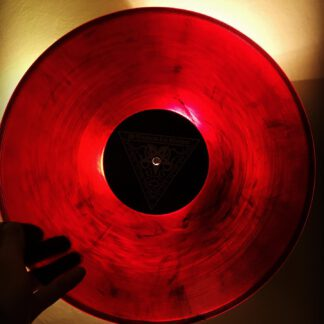 Essence Red Black Galaxy vinyl
