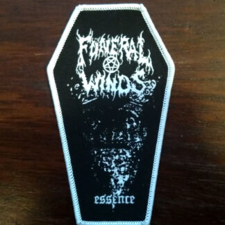 Funeral Winds Essence Coffin Patch White Border
